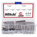 Hilitchi 110 Pcs Dowel Pin Stainless Steel...