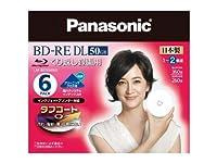 パナソニック ブルーレイディスク 日本製 くり返し録画用 2倍速 50GB 6枚パック LM-BE50W6G
