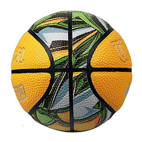 Find Cheap SSLLPPAA Children's Basketball No. 5 Basketball Indoor and Outdoor Training Competition B...