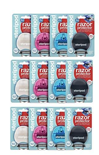 Steripod Razorpod - Clip-On Razor Protector - 12 pack multi color