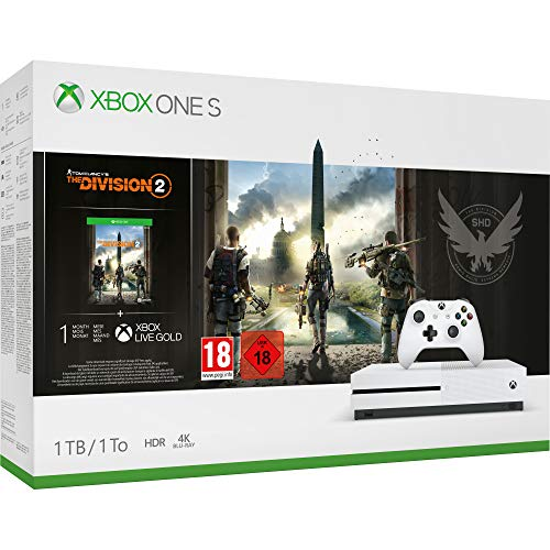 Pack de Console Xbox One S 1 To + Tom Clancy's The Division 2