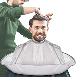House of Quirk Hair Cutting Cape Umbrella, Hairdressing Cloak Beard Shaving Waterproof Hairdressing Kit Haircut Accessorie...