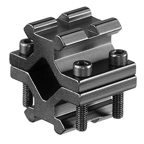 ACEXIER Tactical Universal Ajustable Rail 20mm Picatinny/Weaver Barrel Ring Adaptador de Tubo de Montaje para Alcance Rifle Linterna Escopeta Convertidor láser