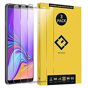 CENTAURUS Screen Protector Replacement for Samsung A9 2018 3 Pack  Anti-Scratch-Fingerprint Ultra-Thin Clear 9H Hardness Tempered Glass Protective Film fit Galaxy A9 2018 SM-A920 A9200 A920F/DS 6.3