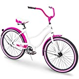 Huffy Cruiser Bike Womens, Holbrook 24 inch, Red