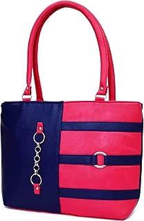 Bellina® Women's Handbag Pink and blue color Shoulder bag
