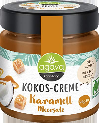 Agava Bio Kokos-Creme, Karamell Meersalz (2 x 200 gr)
