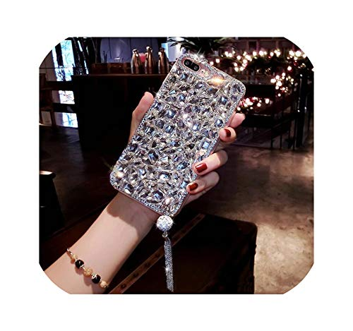 Bling 3D - Carcasa para Samsung S6 S7 S8 S9 S10 S11Plus Note8 9 10