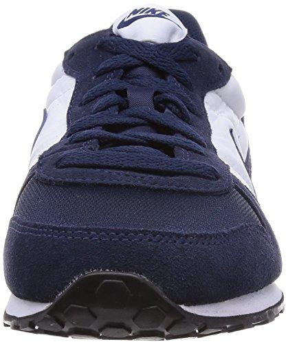 Nike - Genicco - Color: Azul marino-Blanco - Size: 42.0
