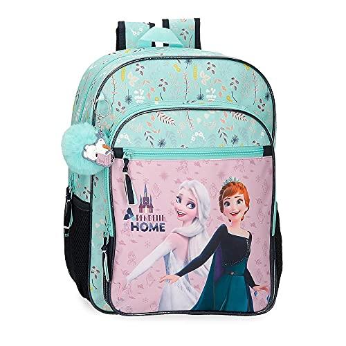 Disney Frozen Arendelle is Home Mochila Escolar Azul 30x38x12 cms Poliéster 15,36L