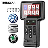 ThinkScan VAG OBD2 Scanner All-System Scan Tool, Professional Code Reader for VW/Audi/Skoda/SEAT, with Oil Lamp/EPB/SAS/ETS/DPF Reset Services, Lifetime Free Update