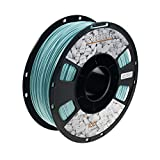OVERTURE Rock PLA Filament 1.75mm, Marble PLA Roll 1kg Spool (2.2lbs), Dimensional Accuracy +/- 0.05 mm, Fit Most FDM Printer (Turquoise Green)