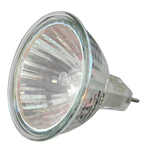 Tungsteno 25gradi stretto fascio luminoso 50W lampadina alogena con riflettore dicroico di vetro