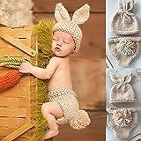 Baby Photoshoot Bunny Accesorios De Fotografía para Recién Nacidos Accesorios...