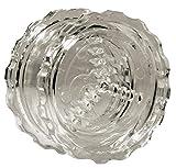 Schiaccia aglio e tritatutto manuale Garlic Chef | Trita aglioe, trita cipolla, trita prezzemolo | Attrezzi cucina | Accessori cucina (trasparente)