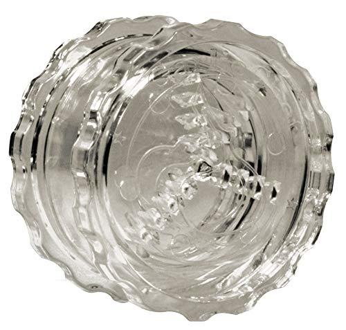 Presse ail Garlic Chef | Ecrase l ail, l oignon, le persil | Mini hachoir manuel | Gadget cuisine| Accessoires de cuisine | Coupe ail (transparent)