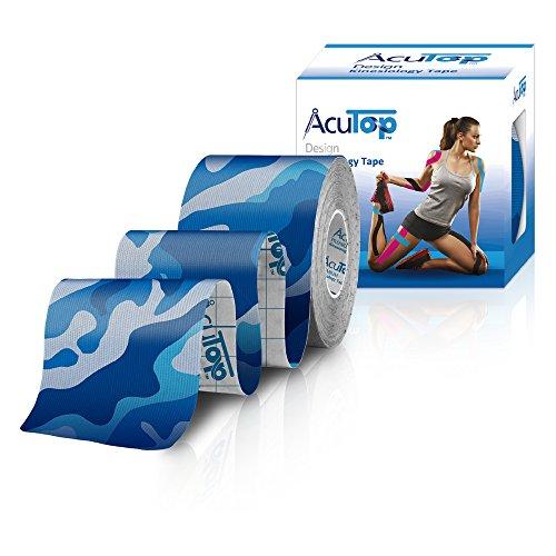 AcuTop Design Kinesiology Tape Blau-Camo