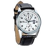 Montre Homme Avaner Montre Bracelet Quartz Cadran Numérique - Afficahge Analogique -Bracelet en...