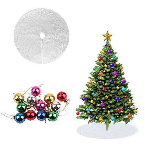 Tumao Palle di Natale+ Natale Vacanze gonne Kit Decorazioni Natalizie,Natale Decorazioni Albero