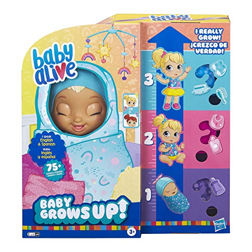 Baby Alive Baby Grows Up Doll - Happy