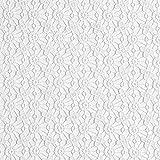 Fabulous Fabrics Spitze weiß, Blume, 120cm breit –