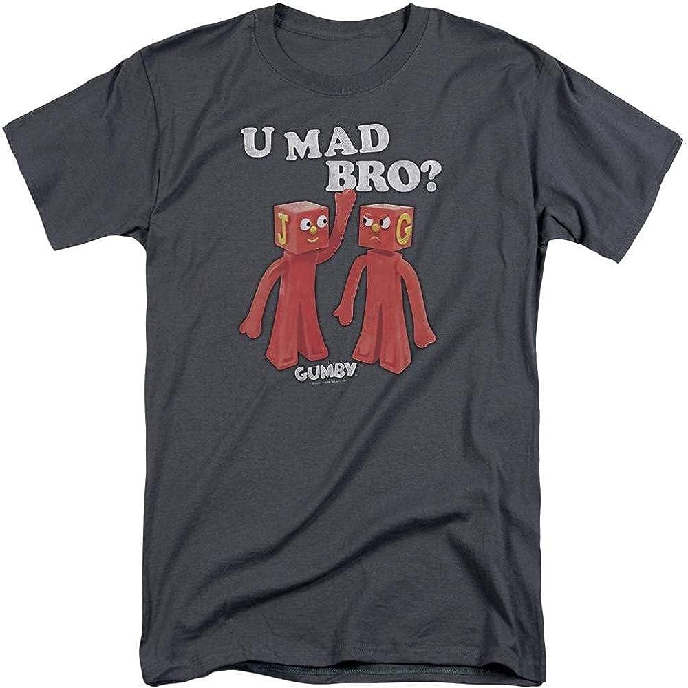 Gumby U Mad Bro Adult Tall Fit T-Shirt