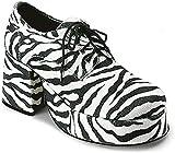 Ellie Shoes Inc 312-PIMP-L-ZEB, Scarpe col tacco...