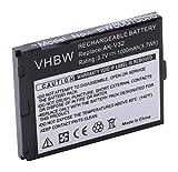 vhbw Li-Ion Akku 1000mAh (3.7V) für Seniorentelefon, Handy Emporia Click, V32, V32C wie AK-V32.