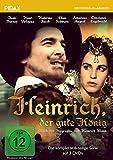 Heinrich, der gute König - Die komplette 6-teilige Serie nach der der Biographie von Heinrich Mann (Pidax Historien-Klassiker) [3 DVDs]