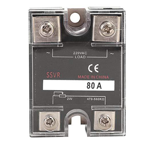 Regulador de voltaje de equipo eléctrico Regulador de voltaje de estado sólido monofásico para mina de carbón para equipo de interfaz periférica de computadora(BERM-R 80A)