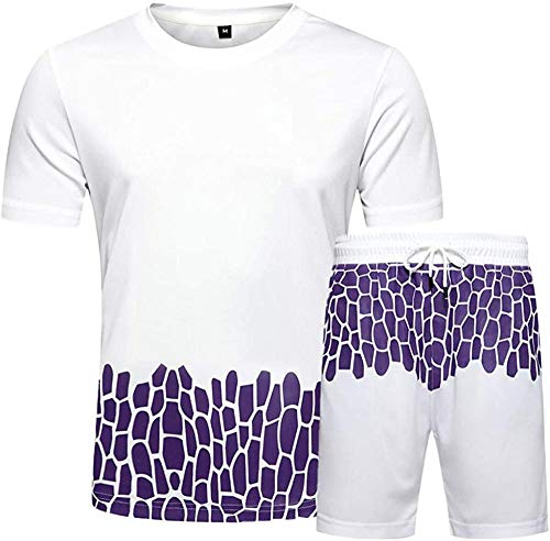 FutuHome Mens' Running Shorts Sportswear,Homme De Sport Outdoor Quick Dry Short Sleeved T-Shirt, Football T-Shirt Short Jogging RunningBlouse