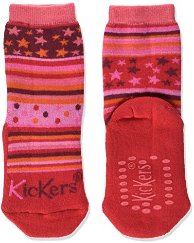 Kickers Unisex Baby Homestar Hausschuhe, Rose (Fuchsia Rose Orange) , 29/34 EU
