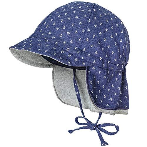 maximo Baby Jungen Schildmütze mit Bindeband-43 - Kindermode : Baby - Jungen