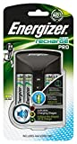 Energizer Carica Batterie Ricaricabili, Recharge Pro, per Batterie AA e AAA...