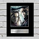 Foto firmada de Emma Watson y Rupert Grint Hermione Granger y Ron Weasley Harry Potter