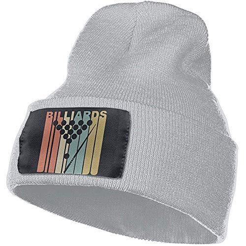 Quintion Robeson Chapeau de Billard de Style rétro Style Vintage Bonnet Hommes et Femmes crâne Montre Montre Extensible