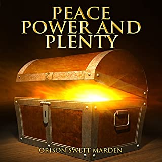 Peace, Power and Plenty audiobook cover art