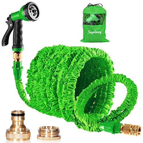 Expandable Garden Hose, 150ft Strongest Flexible Water Hose, 8 Functions...
