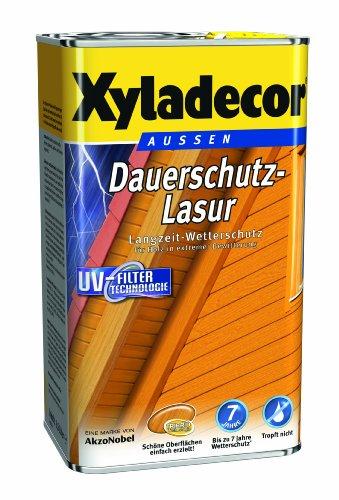 Xyladecor Dauerschutz-Lasur Teak 4 Liter