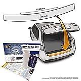 Passend für BMW X3 Typ G01 (3.Generation ab 2017) - Passform Lackschutzfolie als Selbstklebender Ladekantenschutz (Autofolie und Schutzfolie) transparent 150µm