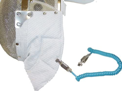 Budget Selling electric sabre fencing included mask connector OFFicial site