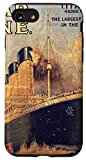 iPhone SE (2020) / 7 / 8 RMS Titanic 1912 Historic Vintage Advertisement Poster Case