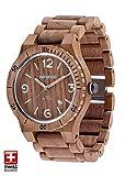 WeWOOD Reloj Pulsera Hombre Alfa Sw Nuez Rough con Madera Pulsera Nr.WW08009