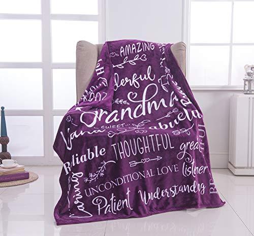 Wonderful Grandma Throw Blanket | Best Grandma Gifts | Wrap Your...