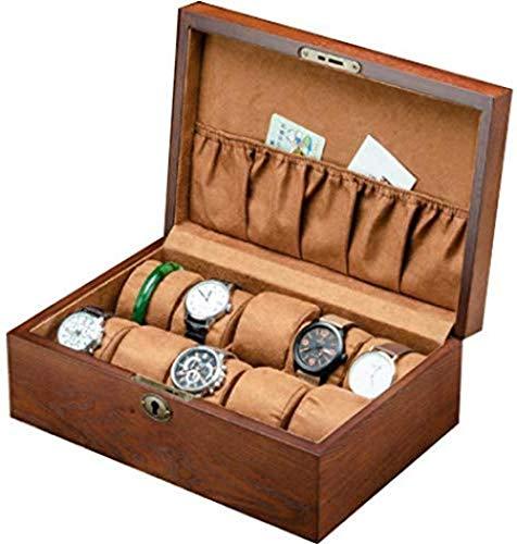 TNSBH De espesor Caja de reloj caja de almacenamiento con