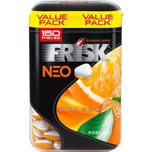 クラシエフーズ フリスク ネオボトル オレンジ 105g ×5個