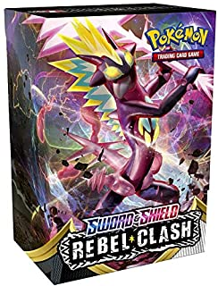 Pokemon TCG Sword & Shield Rebel Clash Build & Battle Box