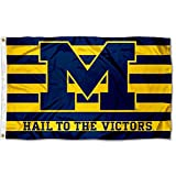 Michigan Wolverines UM University Large College Flag