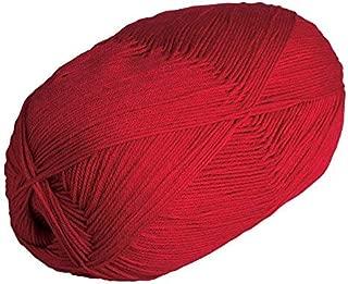 Knit Picks Brava 500 Yarn Medium Worsted Premium Acrylic 17.6 oz (Red)