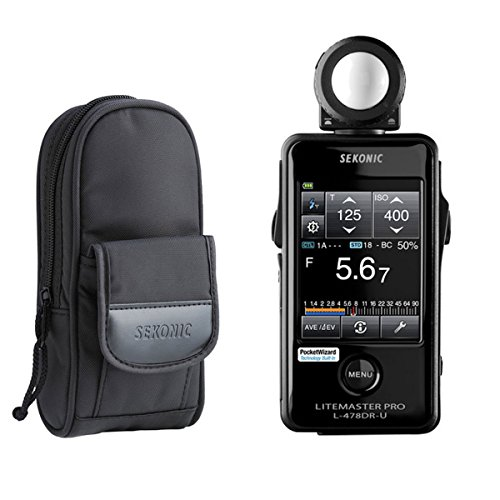 Sekonic LiteMaster Pro L-478DR-U Light Meter for PocketWizard System with Exclusive USA Radio...